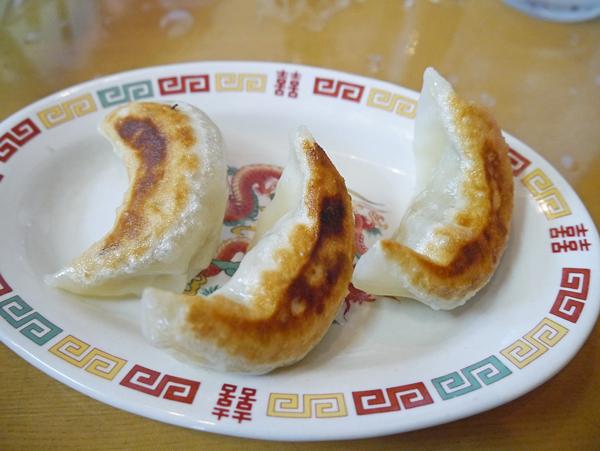 関さん餃子3個