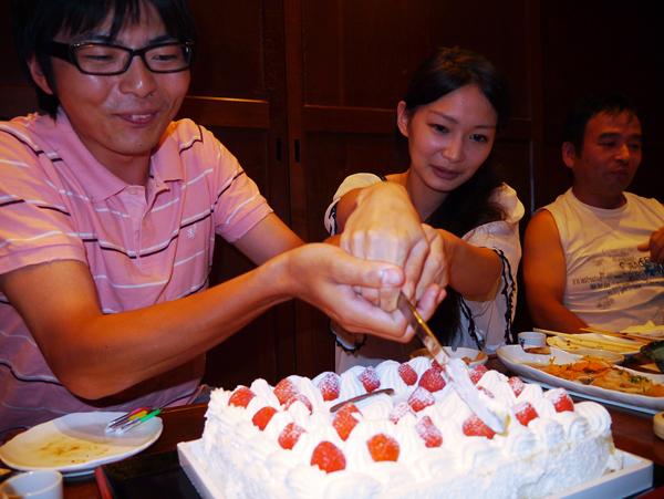 結婚祝酒宴3