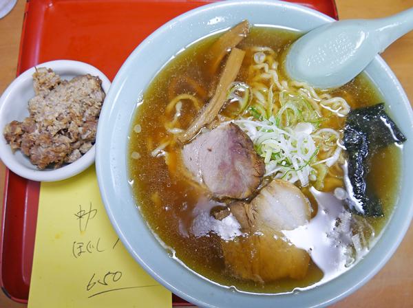 生江食堂中華豚ほぐし