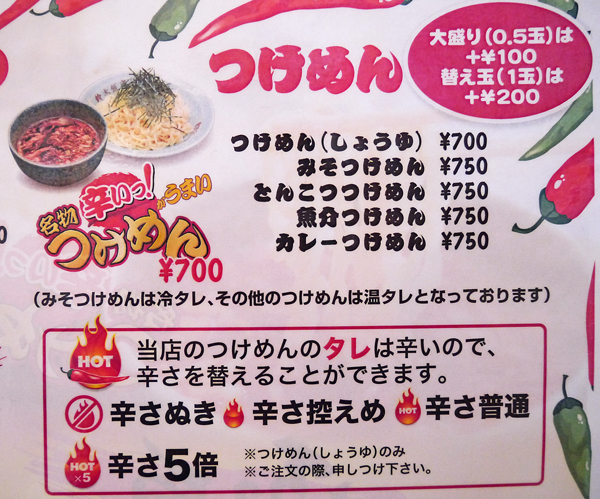 鈴木飯店メニュー2