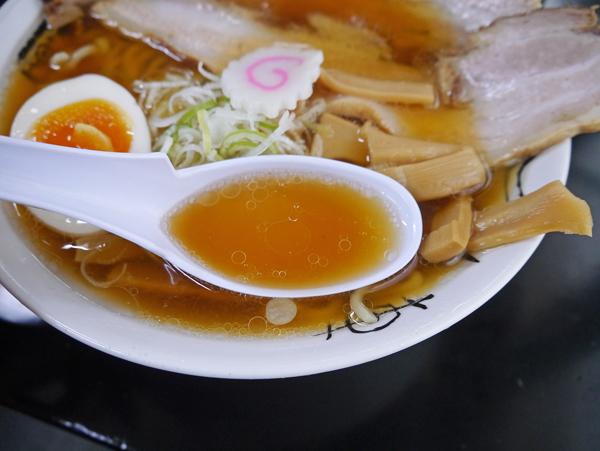 長谷川半面盛スープ