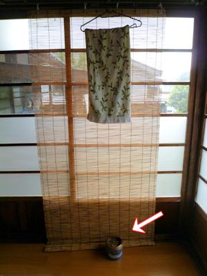 夏のタオルは蚊取り線香のカホリ