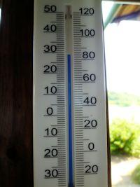 日向は間違いなく30℃越え