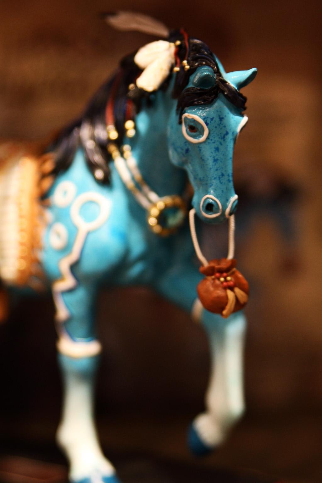 青き馬(トレーディングポスト)