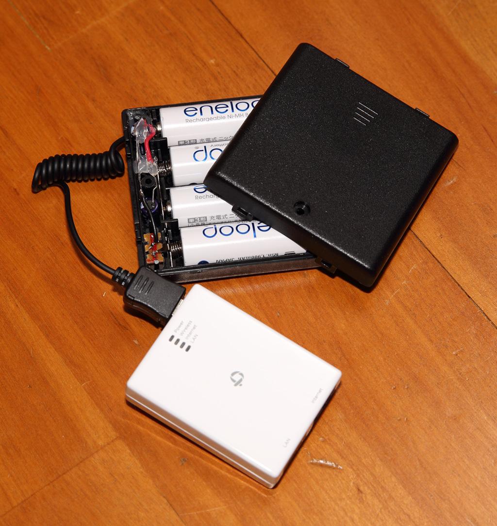 6Dリモート撮影用Wi-Fiルータ