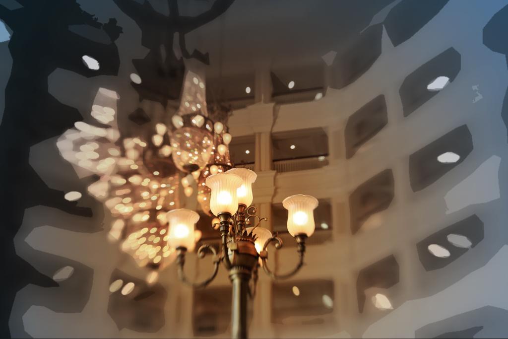 光たち(東京ディズニーランドホテル)