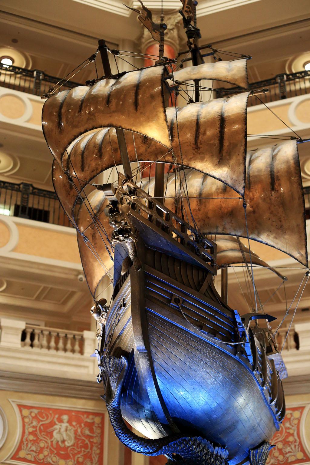 ガレオン船(東京ディズニーシー・ホテルミラコスタ)