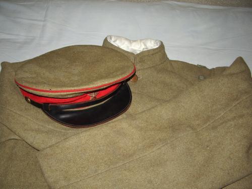 下士卒四五式軍帽03