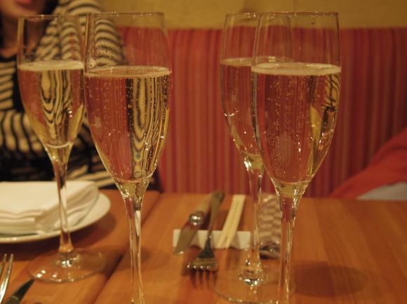 シャンパン食堂201302シャンパン