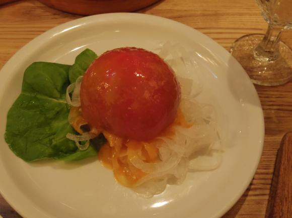 つばめグリルトマトのファルシー