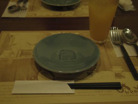 スイートバジルお皿