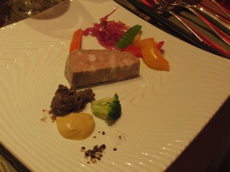 ルクロ201307前菜1