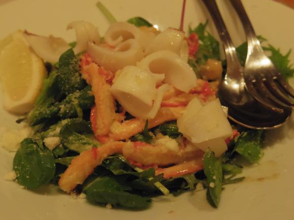 洋食カツイ海鮮サラダ