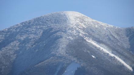 九重の雪景色