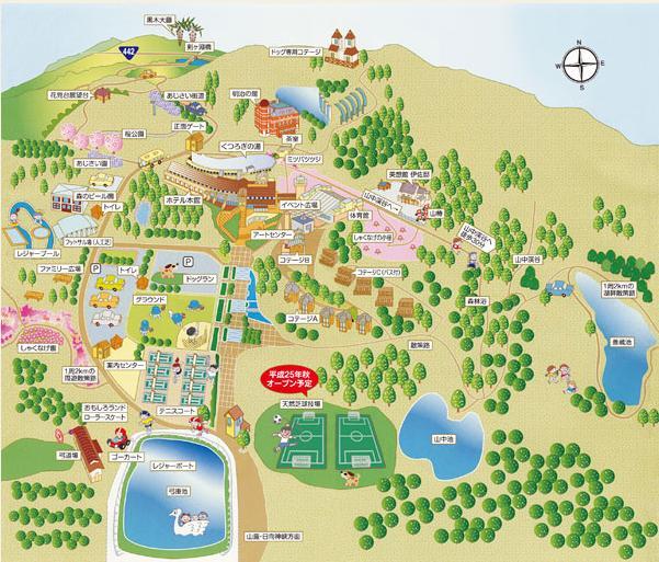園内map