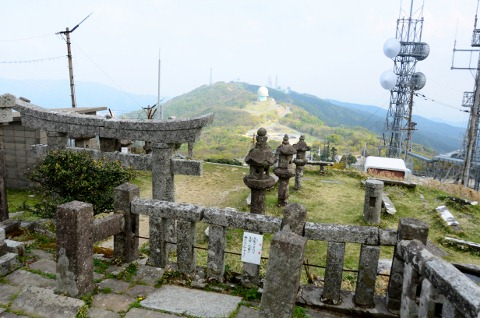 上宮からの景色