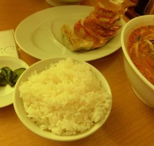 餃子+半ライスセット