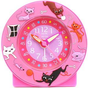 Baby Watch Paris 【ベビーウォッチ】 園児・小学生向け子供用目覚まし時計  ベビーウォッチ ネコ AC015 ピンク