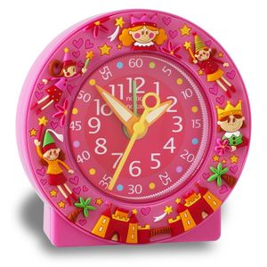 Baby Watch Paris 【ベビーウォッチ】 園児・小学生向け子供用目覚まし時計 ベビーウォッチ お姫様 AC005 ピンク