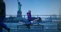 ニューヨークにジャンプ