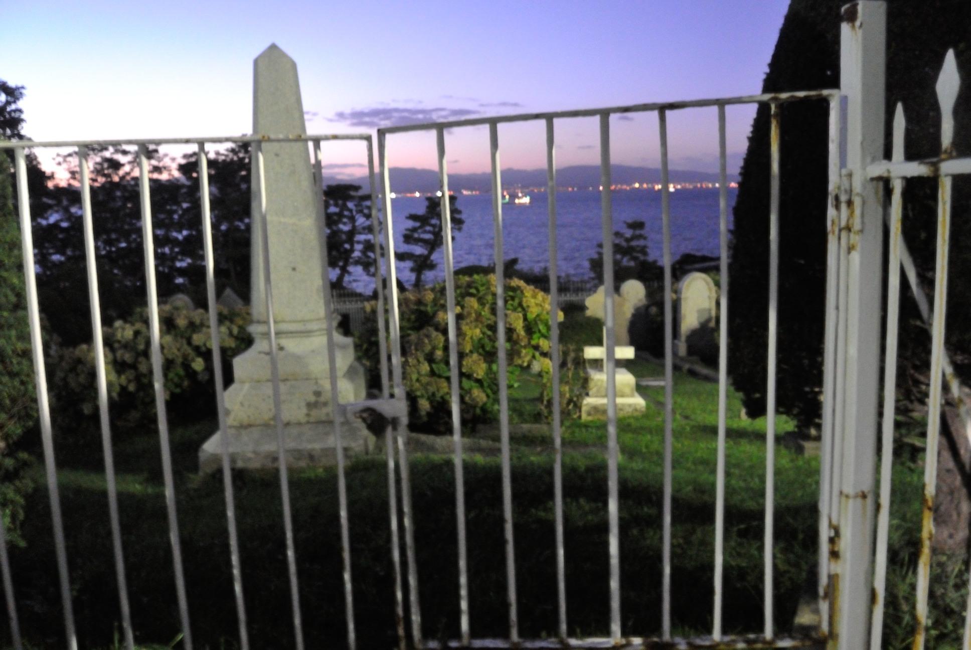 函館外人墓地