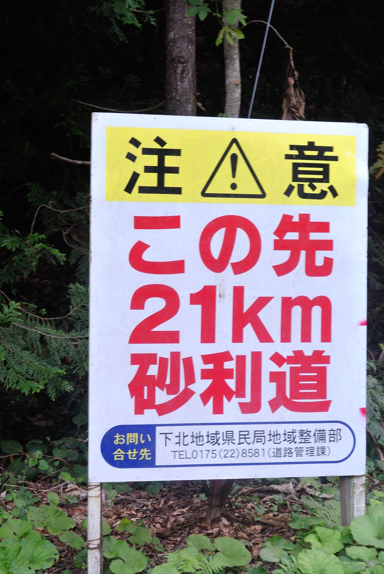 ダート21km