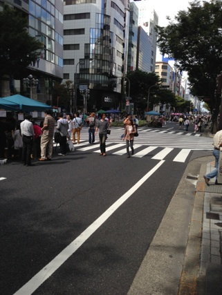 2013.9.29ホコ天クリマ⑥街並み