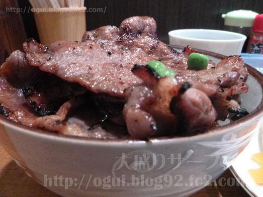 赤羽ランチで炭焼き豚丼和とん023