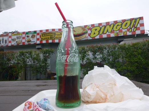 超デカいハンバーガーのスーパービンゴ051