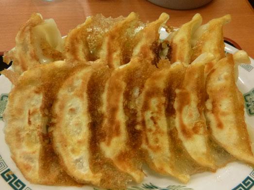 日高屋メニューのランチでダブルW餃子定食001