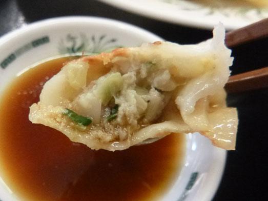 日高屋メニューのランチでダブルW餃子定食029