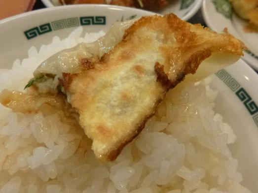 日高屋メニューのランチでダブルW餃子定食030