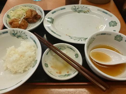 日高屋メニューのランチでダブルW餃子定食033