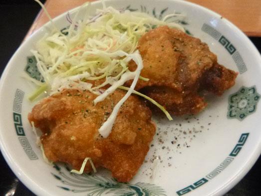 日高屋メニューのランチでダブルW餃子定食035