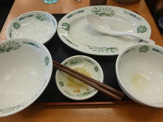 日高屋メニューのランチでダブルW餃子定食039