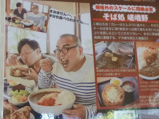 そば処嵯峨野のデカ盛りメニュー紹介001