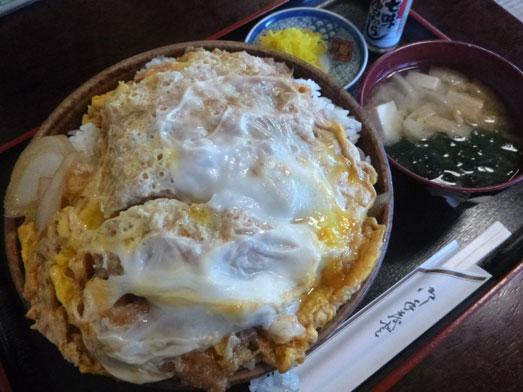 茨城神栖市デカ盛り嵯峨野のカツ丼大盛り031