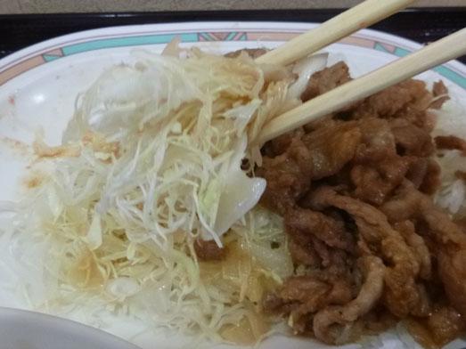 早稲田キッチンオトボケのジャンジャン焼定食024