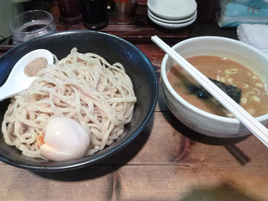 千葉市内の麺工房しろきやでつけ麺メガ盛り025
