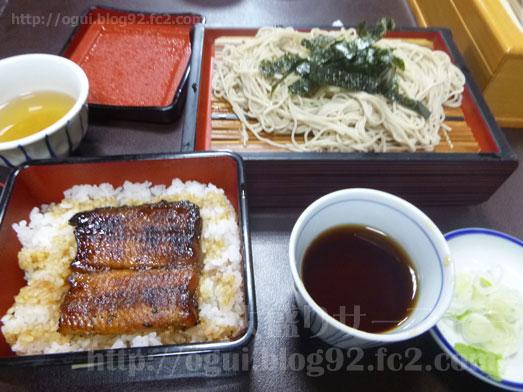 成田でうなぎ鰻福亭まんぷくていのうな重そばセット021