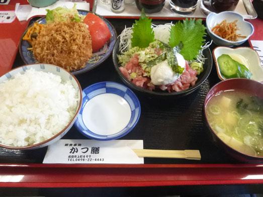 成田かつ膳タイムサービスランチ特上定食017