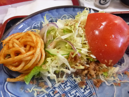 成田かつ膳タイムサービスランチ特上定食027