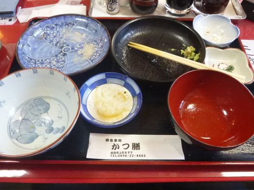 成田かつ膳タイムサービスランチ特上定食028