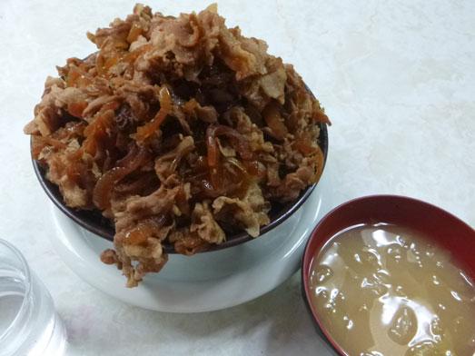 早稲田名物ワセメシお食事ライフの肉丼018