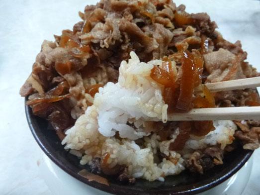 早稲田名物ワセメシお食事ライフの肉丼021