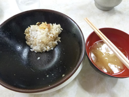早稲田名物ワセメシお食事ライフの肉丼027