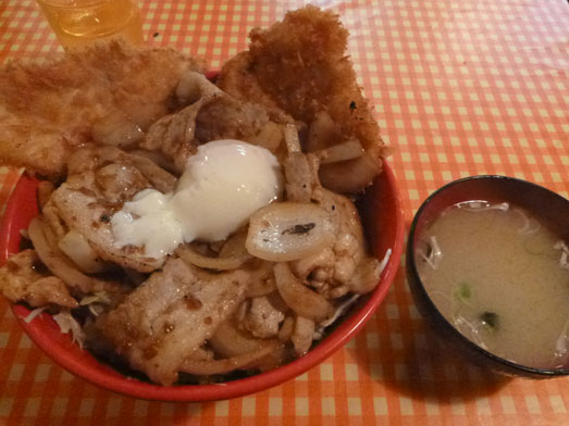 阿佐ヶ谷ランチでキッチン男の晩ごはんスタミナ野郎丼018