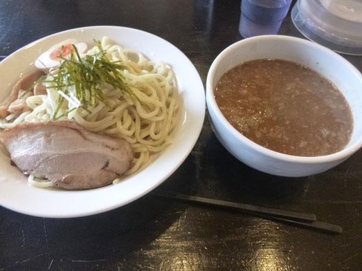 らーめん宮本京成成田駅前店の濃厚魚介つけ麺大盛り015