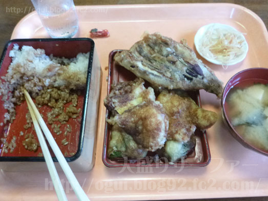 成田のデカ盛り店らーめん大漁の天丼039