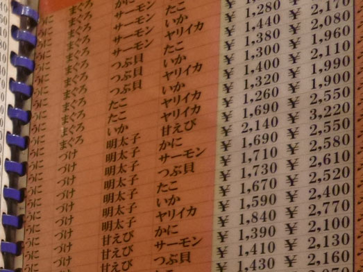 若狭家秋葉原店のお値打ち丼390円019